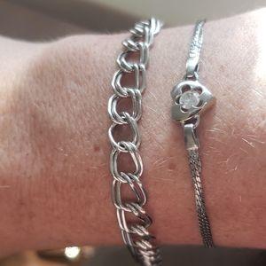 Vintage sterling bracelets